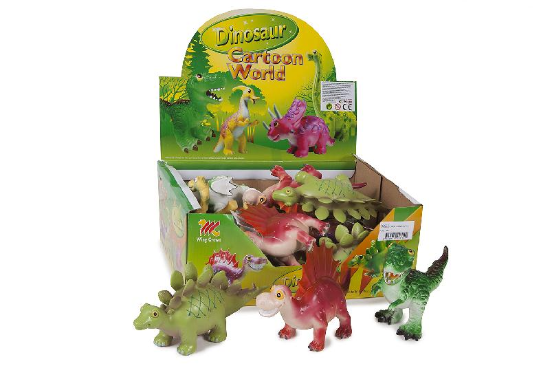 ANIMALES DINOS FUNNY EXP.12