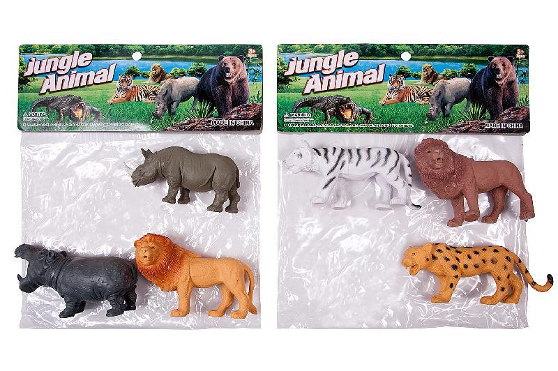 ANIMALES SELVA 3 EN BOLSA