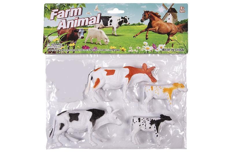 ANIMALES  GRANJA 4PC. BOLSA