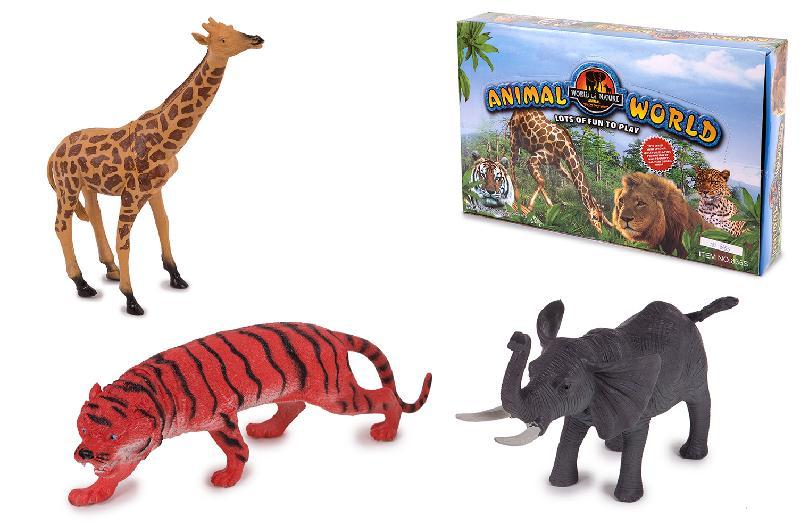 ANIMALES DE SELVA  EN EXP.6