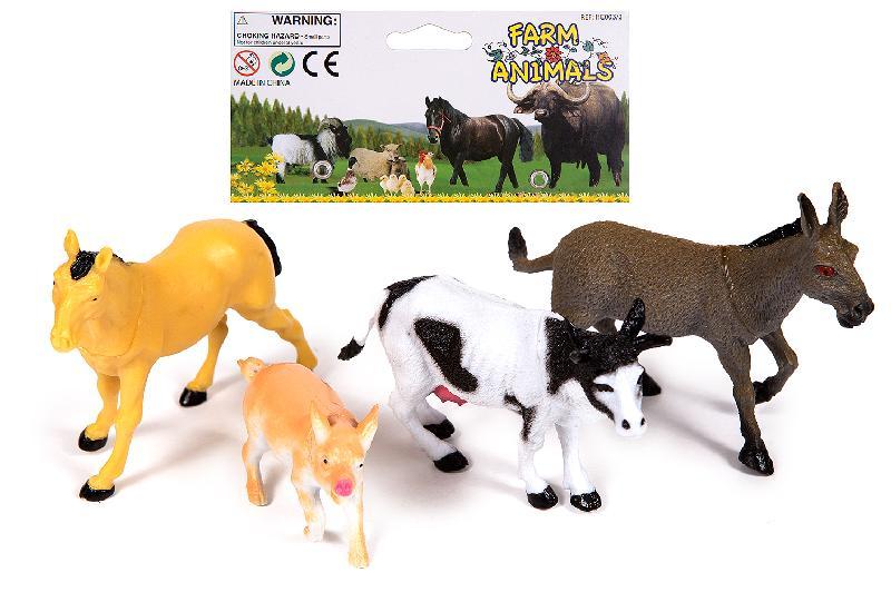 ANIMALES  DE  GRANJA EN BOLSA