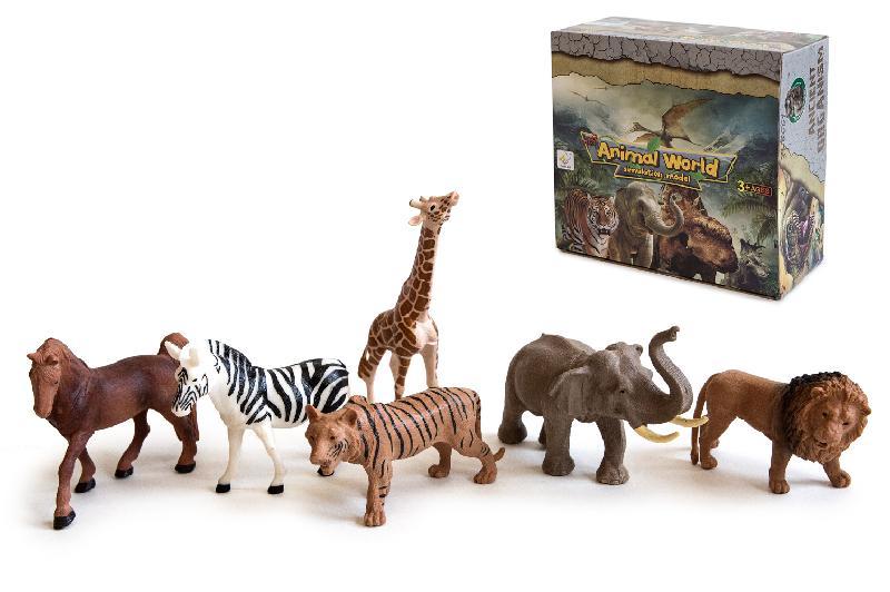 ANIMALES DE SELVA EXP.12