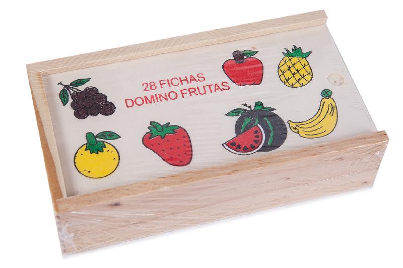 DOMINO MADERA  DE FRUTAS